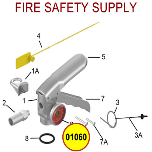 Amerex 01060 Rivet Aluminum Lever Sales
