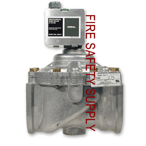 Ansul 25937 Gas Valve, Mechanical, 2 1/2 in.