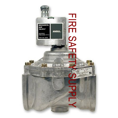 Ansul 25938 Gas Valve, Mechanical, 3 in.