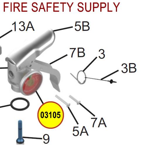 Amerex 03105 Gauge 125 Aluminum BCF