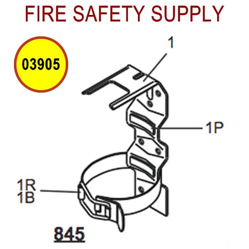 Amerex 03905 Bracket Strap Assembly 817 Bracket