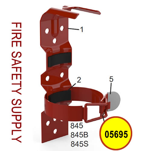 Amerex 06070 Strap Assembly & Rivet 845