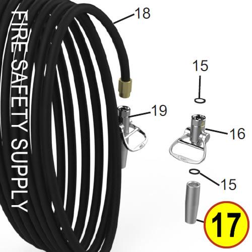 Amerex 06467 Nozzle .312 Anodized Wheeled Unit