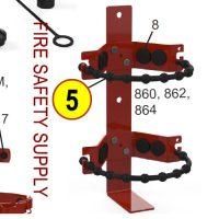 Amerex 07166 Strap 862 9/32 Rubber