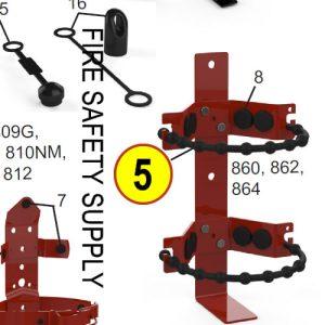 Amerex 07802 Strap 864 3/8 Rubber