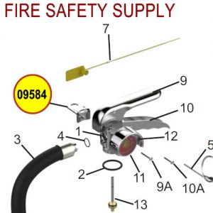 Amerex 09584 Bag Assembly Loop & Screw LP High Performance