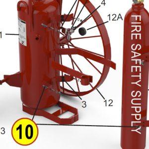 Amerex 11970 Bag Assembly Hardware Wheeled Units