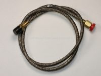 Ansul 32336 Actuation Hose, Swivel, Stainless Braided, 24 in., 1/4 in. Female