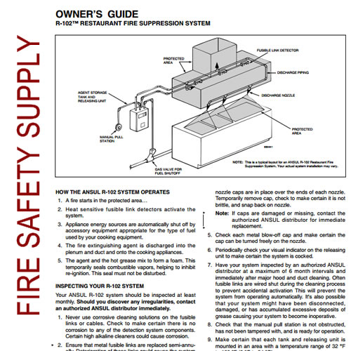 Ansul 418127 Owner's Guide, R-102