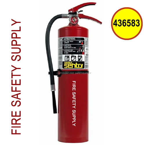 436583 Ansul Sentry 10 lb. FORAY Industrial Extinguisher (AA10SI)