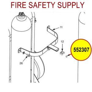 Ansul 552307 Rivet Stainless Steel