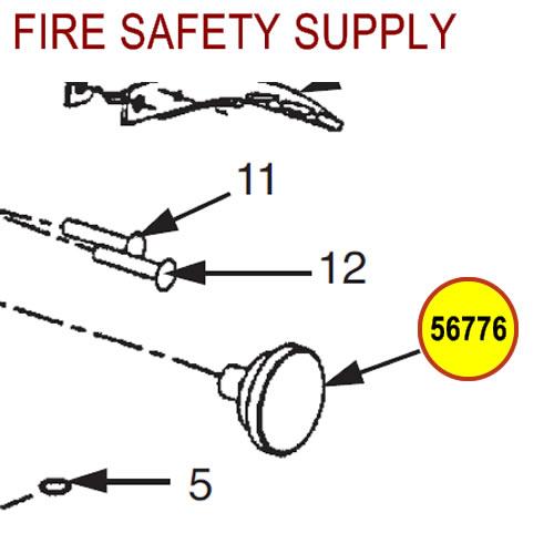 Ansul 56776 Sentry Pressure Gauge