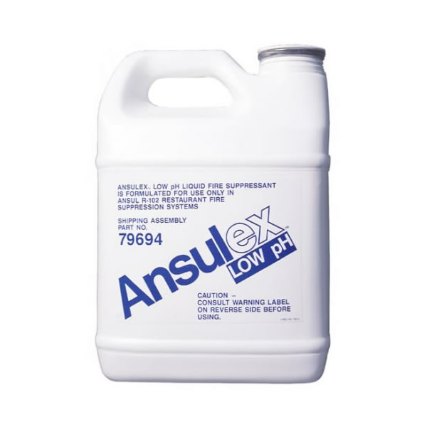 Ansul 79694 Ansulex Low Ph Wet Chemical Agent 1 5 Gal