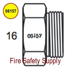 Amerex 06157 Plug Hydrotest 50 lb. Hose