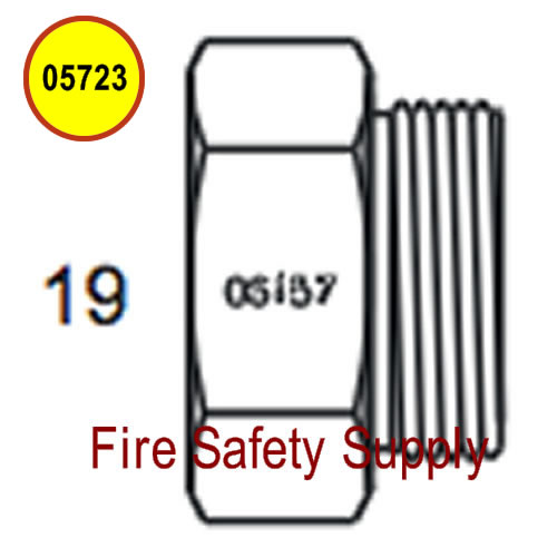 Amerex 05723 Plug Hydrotest 3/4 Hose