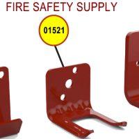 Amerex 01521 Bracket Wall 819 5.0 Aluminum Red