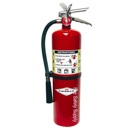 Amerex B441 10 lb. ABC Dry Chemical Extinguisher