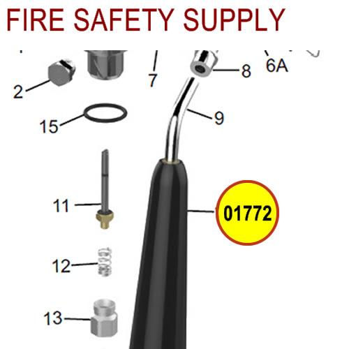 Amerex 01772 Horn Carbon Dioxide 5.0