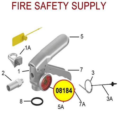 Amerex 08184 Gauge 100 Aluminum Dry Chemical Sales