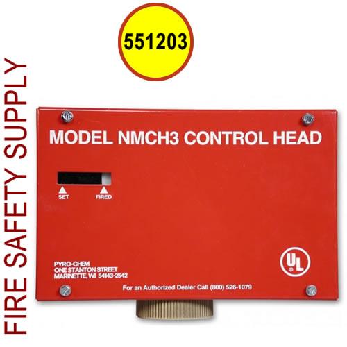 Pyro Chem 551203 Nmch Control Head Pyro Chem 551203 Nmch