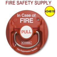 Ansul 434618 Remote Pull Station, Red