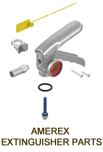 WHEELED EXTINGUISHER and LARGE DRY CHEMICAL SYSTEM PARTS