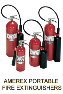 AMEREX PORTABLE FIRE EXTINGUISHERS