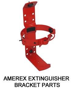 AMEREX EXTINGUISHER BRACKET PARTS