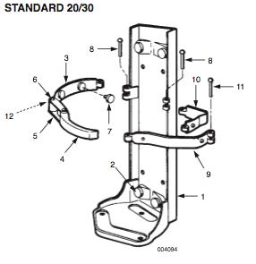 RedLineMountingBracketStandard20-30