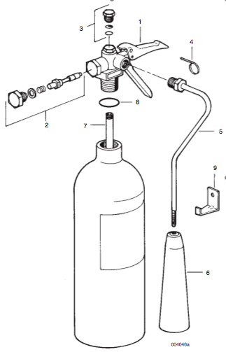 Sentry Carbon Dioxide Fire Extinguisher Parts | Fire Safety Supply
