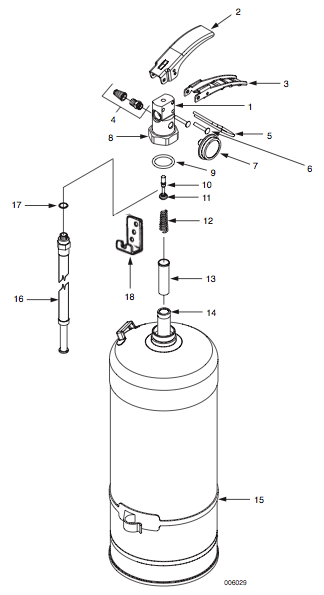sentry water fire extinguisher parts