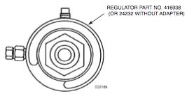 SingleRegulatorFieldReplacementKitInstallationInstructionsPost-1989C-Model WheeledUnit