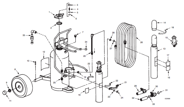 Wheeledfireextinguisherpartscr D on Schematics For A 350