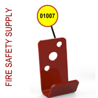 Amerex 01007 Bracket Wall 816 Red