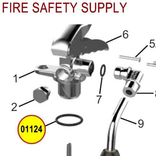 Amerex 01124 O-Ring Collar Carbon Dioxide Sales