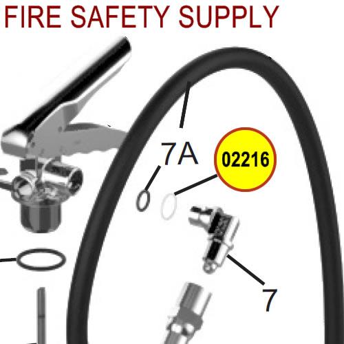 Amerex 02216 Spacer Elbow Carbon Dioxide VAR