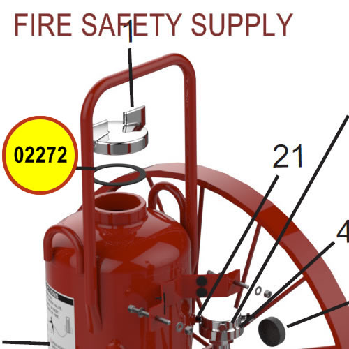 Amerex 02272 Gasket Cap
