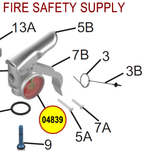 Amerex 04839 Gauge 100 Aluminum BCF