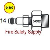 Amerex 04892 Adapter Assembly Hydrotest Carbon Dioxide Wheeled Unit/Nitrogen Cylinder