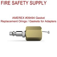 Amerex 09494 Gasket Adapter Assembly High Performance Water Mist Sales