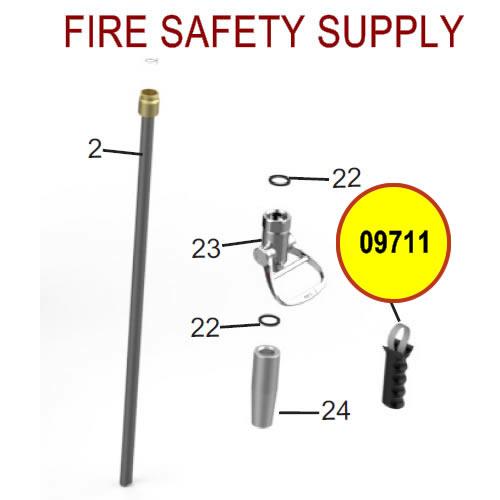 Amerex 09711 Handle Assembly Pistol Grip