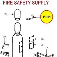 Ansul 11391 Label