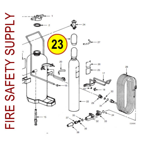 Ansul 11453 Plug, Safety Shipping