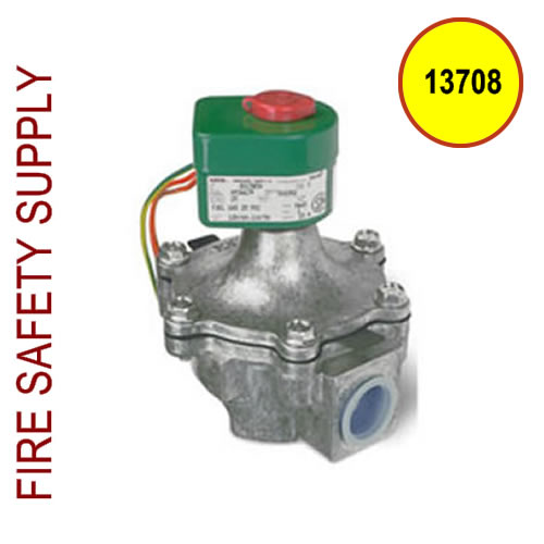 13708 EGVSO-100 Gas Valve, Electrical, (120 VAC, 60 Hz) 1 in. Pipe