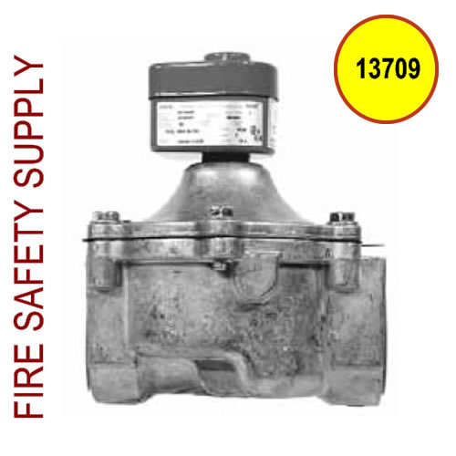 13709 EGVSO-150 Gas Valve, Electrical, (120 VAC, 60 Hz) 1-1/2 in. Pipe
