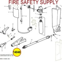 Ansul 14048 Red Line Nozzle Assembly