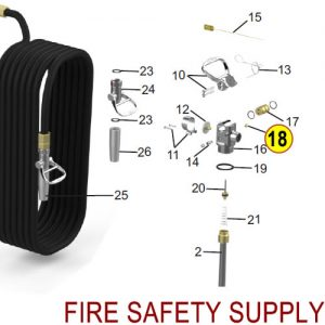 Amerex 14218 Plug Pipe 1/4 Brass Sales