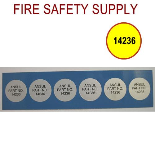 Ansul 14236 Hose Inspection Disc, Visual (6/pk)