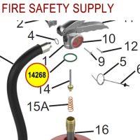 Amerex 14268 O-Ring Collar Aluminum Halotron Sales