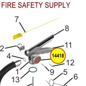 Amerex 14418 Gauge 125 Aluminum Halotron Sales